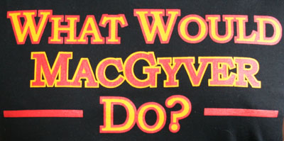 MacGyver tshirt