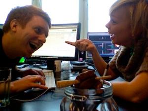 Nina Hjelmkvist och Markus Granseth