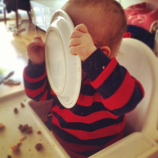 Nån gillar Lasagne!