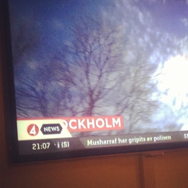 Snygg grafik #tv4 ! Alltid lika schysst när man döljer städernas namn med sin logotype :)