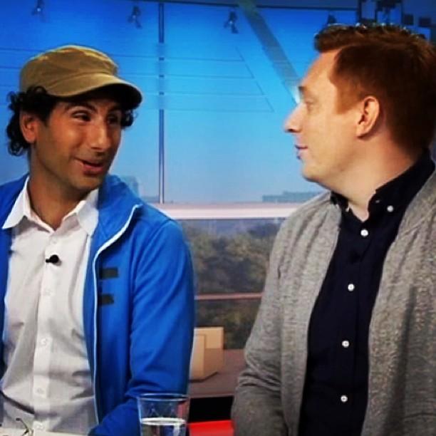 Jag och @stephan_wilson snackade i Gomorron om ALLA barns rätt att sporta! http://www.svtplay.se/klipp/1339617/vad-ar-victoriafonden