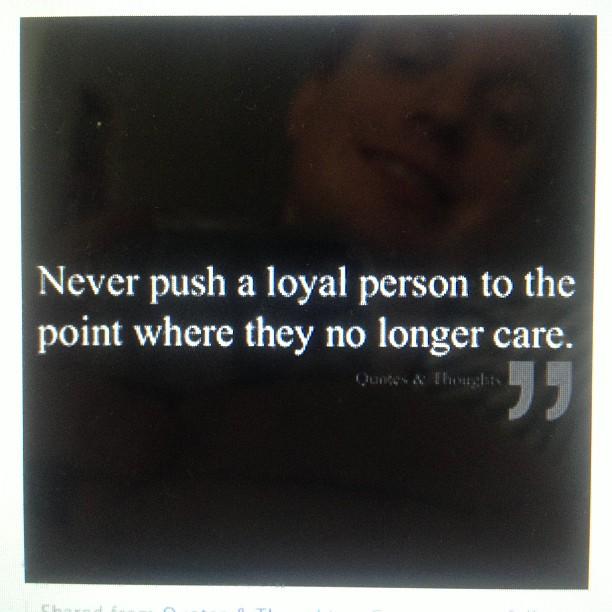 Lojalitet!