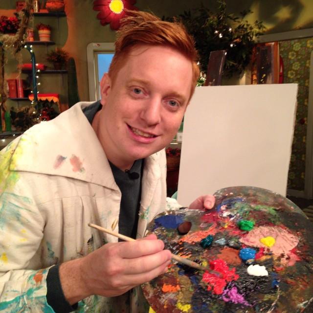 Markus the artist!!!