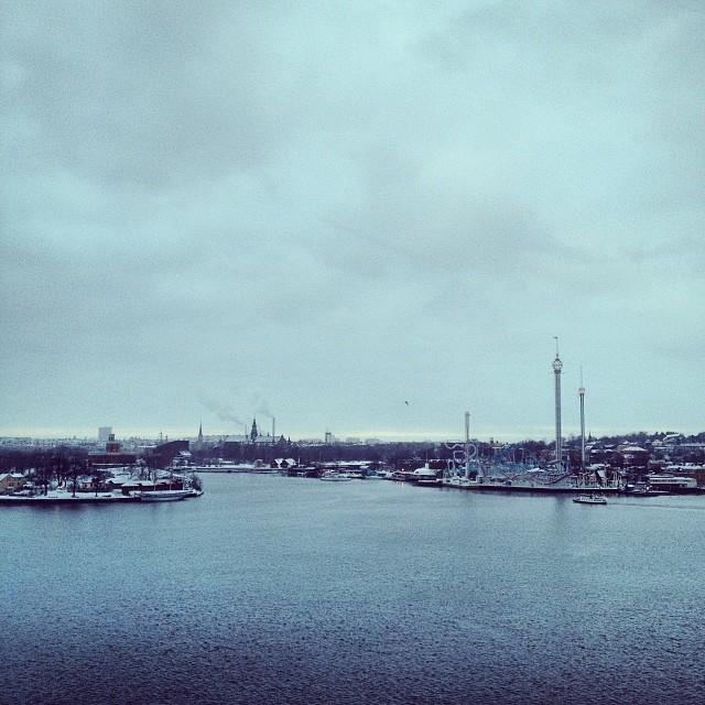 Grått! Januari! #stockholm
