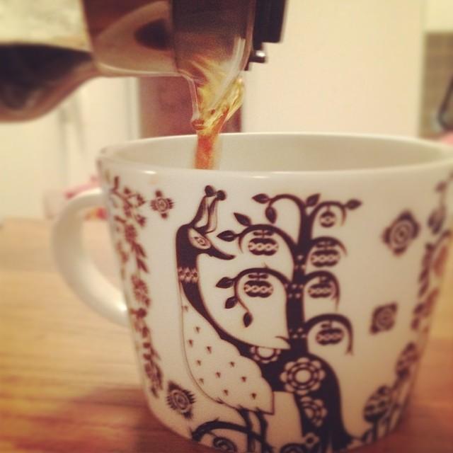 Kaffe! Några dagars vila är löjligt efterlängtat. Njuter!
